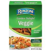 Ronzoni Garden Delight Tricolor Rotini