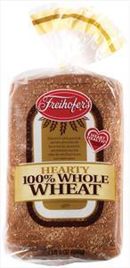 Freihofer's Hearty 100% Whole Wheat Bread
