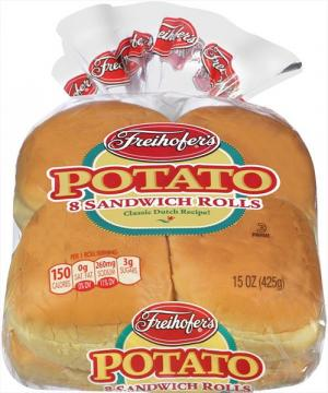 Freihofer's Potato Hamburger Rolls