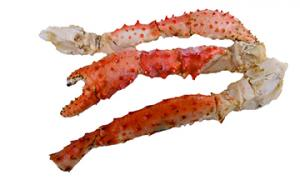 King Crab Legs Cooked to Order