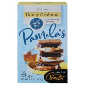 Pamela's Honey Grahams Gluten Free Crackers