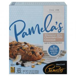 Pamela's Whenever Bars Oat, Chocolate Chip & Coconut