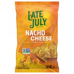 Late July Nacho Cheese Tortilla Chips