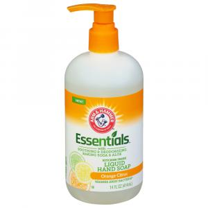 Arm & Hammer Essentials Orange Citrus Liquid Hand Soap