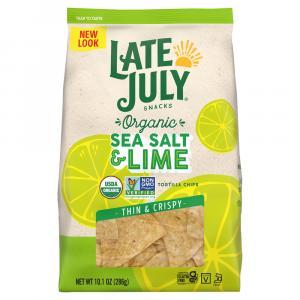 Late July Sea Salt & Lime Thin & Crispy Tortilla Chips