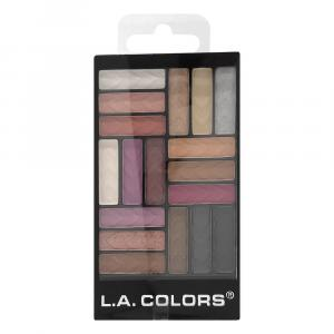 L.A. Colors Diva Glam 18 Color Eyeshadow Glam Palette