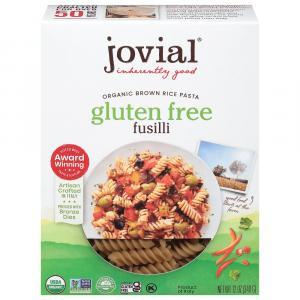 Jovial Organic Gluten Free Brown Rice Fusilli