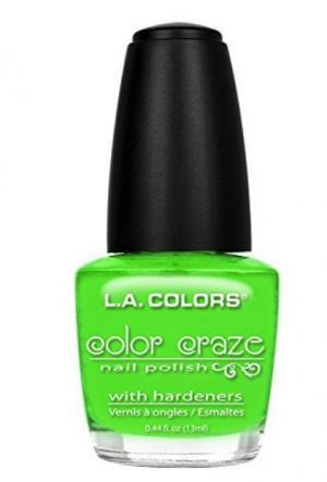 L.A. Colors Color Craze Mint Nail Polish