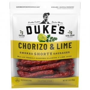 Duke's Chorizo & Lime Smoked Shorty Sausages