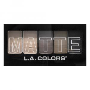 L.A. Colors Matte Natural Linen Eyeshadow Palette