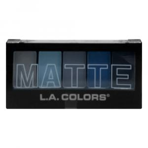 L.A. Colors Matte Blue Denim Eyeshadow Palette