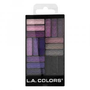 L.A. Colors Strange Love 18 Color Eyeshadow Glam Palette