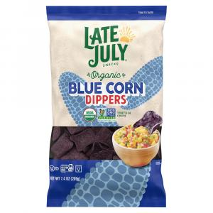 Late July Blue Corn Dippers Tortilla Chips