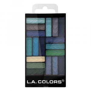 L.A. Colors Shady Lady 18 Color Eyeshadow Glam Palette