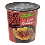 Mike's Mighty Good Beef Ramen Noodle Soup