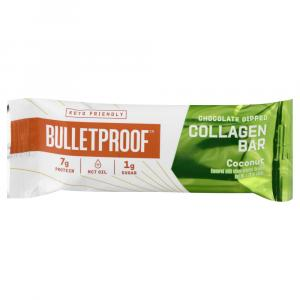 Bulletproof Chocolate Dipped Collagen Bar Coconut