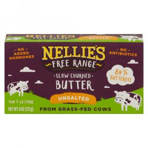 Nellie's Free Range Slow Churned Unsalted Butter