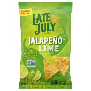 Late July Jalapeno & Lime Tortilla Chips
