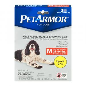 Petarmor Flea And Tick Squeeze On For Dogs 23 To 44 Pounds