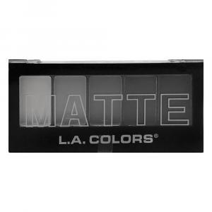 L.A. Colors Matte Black Lace Eyeshadow Palette
