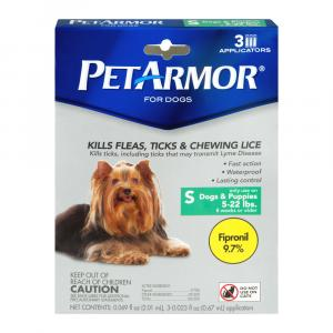 Petarmor Flea And Tick Squeeze On For Dogs 5 To 22 Pounds
