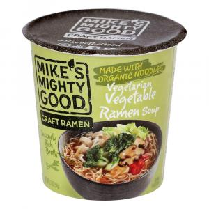 Mike's Mighty Good Vegetarian Vegetable Ramen Soup