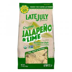 Late July Organic Jalapeno & Lime Tortilla Chips