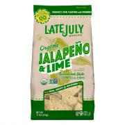 Late July Organic Jalapeno & Lime Tortilla Chips