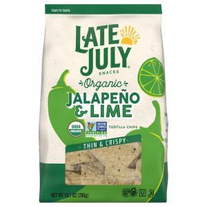Late July Jalapeno & Lime Thin & Crispy Tortilla Chips