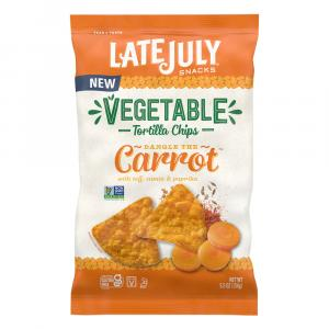 Late July Vegetable Carrot Tortilla Chips