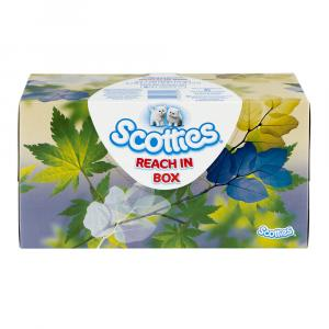 Scotties 2-ply White Facial Tissues