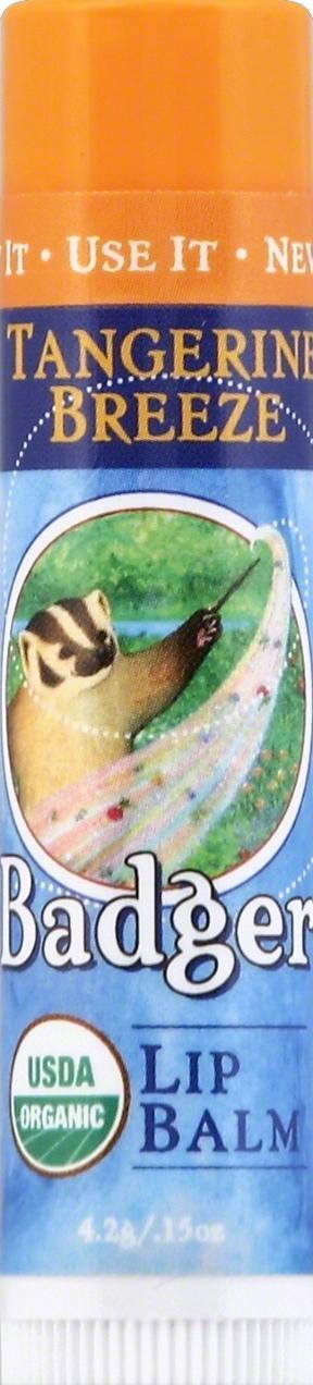 Badger Organic Tangerine Breeze Lip Balm Stick