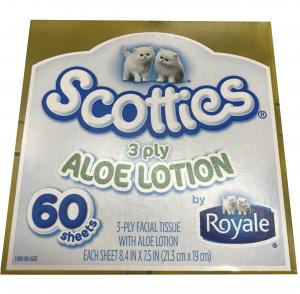Scotties 3-ply Facial Tissue With Aloe Lotion