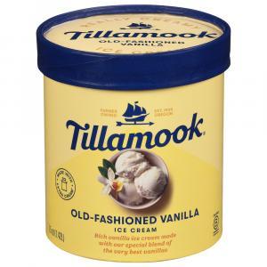 Tillamook Old Fashioned Vanilla Ice Cream