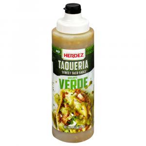 Herdez Taqueria Taco Sauce Original Verde