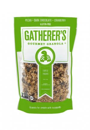 Gatherer's Gourmet Granola Turtle Tracks