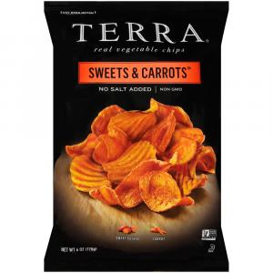 Terra Krinkle and Classic Cut Sweets & Carrots Chips