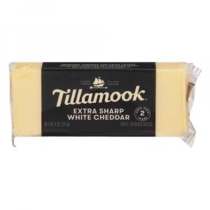 Tillamook Extra Sharp White Cheddar Cheese