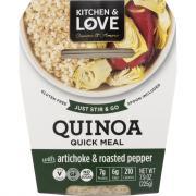 Cucina & Amore Quinoa Meal Artichoke & Peppers