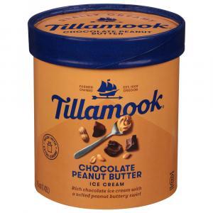 Tillamook Chocolate & Peanut Butter Ice Cream
