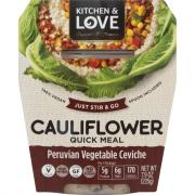 Kitchen & Love Cauliflower Peruvian Vegetable Ceviche