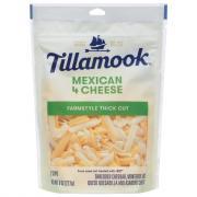 Tillamook Mexican 4 Cheese Shredded Cheese