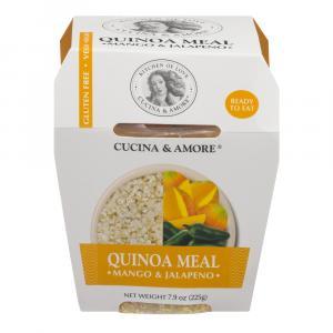 Cucina & Amore Quinoa Meal Mango & Jalapeno