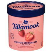 Tillamook Oregon Strawberry Ice Cream