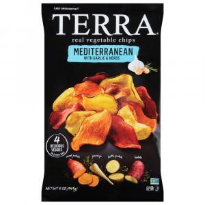 Terra Mediterranean Garlic & Herbs Vegetable Chips