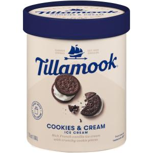 Tillamook Cookies & Cream Ice Cream