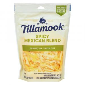 Tillamook Spicy Mexican Blend Farmstyle Thick Cut