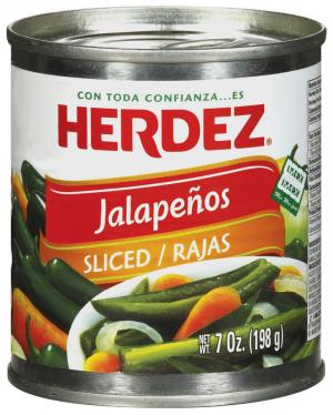 Herdez Sliced Jalapeno Peppers