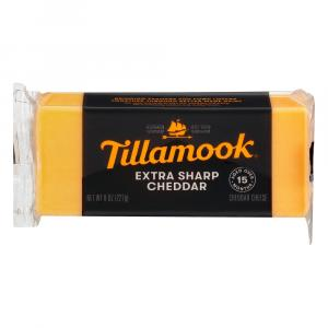 Tillamook Extra Sharp Yellow Cheddar Cheese