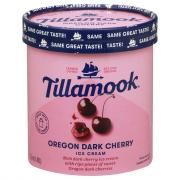 Tillamook Oregon Dark Cherry Ice Cream